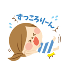 かわいい主婦の1日【ゆるカラー編】(個別スタンプ:40)