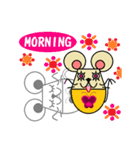 FUNNY FRIENDS (MOUSE)(個別スタンプ:3)