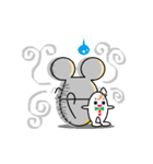 FUNNY FRIENDS (MOUSE)(個別スタンプ:4)