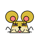 FUNNY FRIENDS (MOUSE)(個別スタンプ:6)