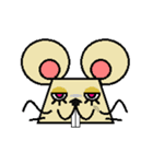 FUNNY FRIENDS (MOUSE)(個別スタンプ:7)