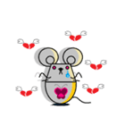 FUNNY FRIENDS (MOUSE)(個別スタンプ:9)
