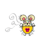 FUNNY FRIENDS (MOUSE)(個別スタンプ:10)