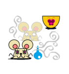 FUNNY FRIENDS (MOUSE)(個別スタンプ:11)
