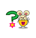 FUNNY FRIENDS (MOUSE)(個別スタンプ:13)
