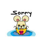 FUNNY FRIENDS (MOUSE)(個別スタンプ:15)