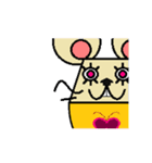 FUNNY FRIENDS (MOUSE)(個別スタンプ:17)