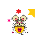FUNNY FRIENDS (MOUSE)(個別スタンプ:18)