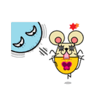 FUNNY FRIENDS (MOUSE)(個別スタンプ:20)