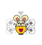 FUNNY FRIENDS (MOUSE)(個別スタンプ:25)