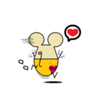 FUNNY FRIENDS (MOUSE)(個別スタンプ:26)