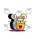 FUNNY FRIENDS (MOUSE)(個別スタンプ:27)