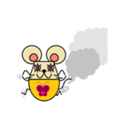 FUNNY FRIENDS (MOUSE)(個別スタンプ:28)