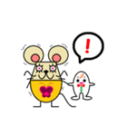 FUNNY FRIENDS (MOUSE)(個別スタンプ:32)