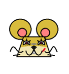 FUNNY FRIENDS (MOUSE)(個別スタンプ:33)