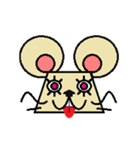 FUNNY FRIENDS (MOUSE)(個別スタンプ:34)