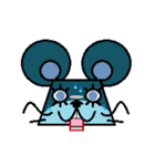FUNNY FRIENDS (MOUSE)(個別スタンプ:36)