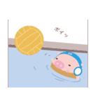 水泳部★ぶかつん1(個別スタンプ:36)