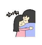 二人の韓国語1(個別スタンプ:10)