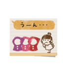 Do your best. Witch hood 24(個別スタンプ:25)