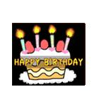 動く♪ 誕生日&おめでとう&ありがとう①(個別スタンプ:05)