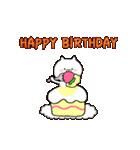 動く♪ 誕生日&おめでとう&ありがとう①(個別スタンプ:15)