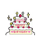 動く♪ 誕生日&おめでとう&ありがとう①(個別スタンプ:24)