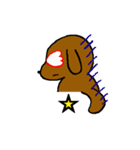 犬の先生スタンプ イヌのハナマル先生(個別スタンプ:06)