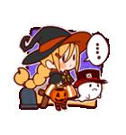 ハロウィン魔女(個別スタンプ:3)