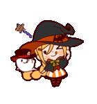 ハロウィン魔女(個別スタンプ:4)