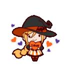 ハロウィン魔女(個別スタンプ:5)