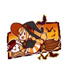 ハロウィン魔女(個別スタンプ:16)