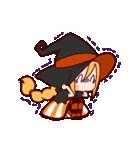 ハロウィン魔女(個別スタンプ:20)