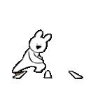すこぶる動くウサギ4(個別スタンプ:17)
