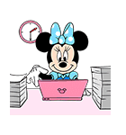 ミニーマウス 飛び出す!ポップアップ(個別スタンプ:10)