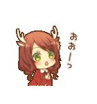 ほのぼのバンビ娘(個別スタンプ:25)