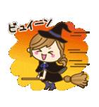 【秋だよ!!♥実用的】デカかわ文字(個別スタンプ:29)