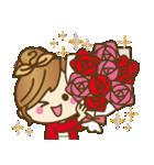 【秋だよ!!♥実用的】デカかわ文字(個別スタンプ:38)