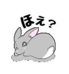 飼いウサろっぴ【ゴキゲン斜め編】(個別スタンプ:02)