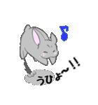 飼いウサろっぴ【ゴキゲン斜め編】(個別スタンプ:05)