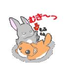 飼いウサろっぴ【ゴキゲン斜め編】(個別スタンプ:12)