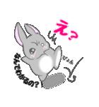 飼いウサろっぴ【ゴキゲン斜め編】(個別スタンプ:16)