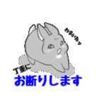飼いウサろっぴ【ゴキゲン斜め編】(個別スタンプ:23)
