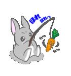 飼いウサろっぴ【ゴキゲン斜め編】(個別スタンプ:29)