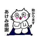 あけみ専用アケミが使う用の名前スタンプ(個別スタンプ:17)