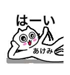 あけみ専用アケミが使う用の名前スタンプ(個別スタンプ:29)