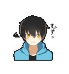 黒髪少年(個別スタンプ:14)