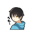 黒髪少年(個別スタンプ:18)