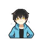 黒髪少年(個別スタンプ:31)