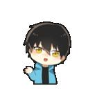 黒髪少年(個別スタンプ:39)